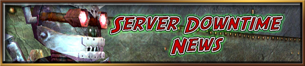 server downtime We are pass the server downtime stated in the original notification we will be  extending 24 hours of premium time to premium time holders on.